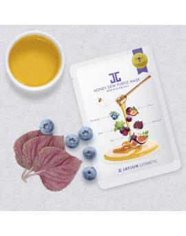 蜂蜜紫莓蜜光童顏美白面膜25 ML(5PCS)